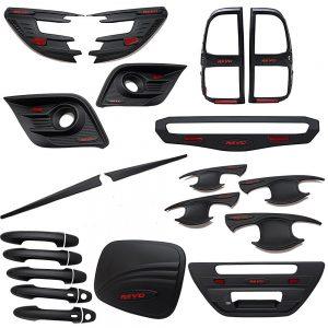 Hilux Revo Black Kits Set