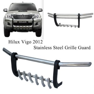 Hilux Vigo 2012-2014 Stainless Steel Grile Guard