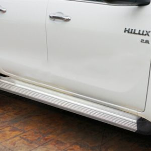 Aluminium Running Board Side Step For Hilux Revo M80 M70 SR5