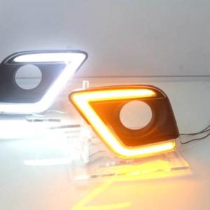 Daytime Running Light With Chromed kit For Hilux Revo M80 M70 SR5