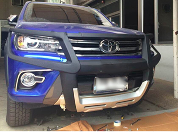 PU Grille Guard for Hilux Revo M80 M79 SR5