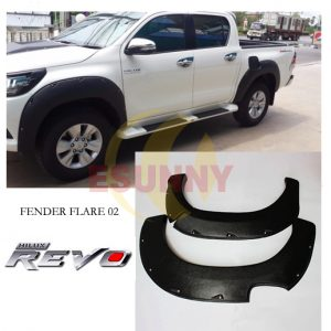 Fender Flare Wheel Arch For Hilux Revo SR5 M80 M70