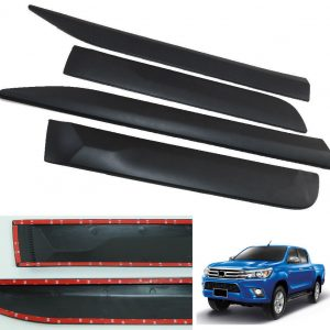 Side Molding Body Kits Trim Body Cladding For Toyota Hilux Revo SR5 M70 M80