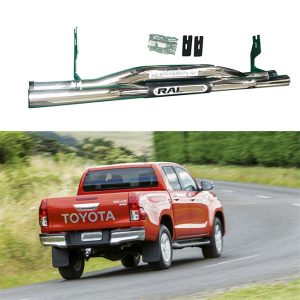 Stainless Steel Rear Guard For Hilux Revo Raider
