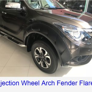 Mazda BT-50 2012-2017 ABS matte black Injection wheel fender flares