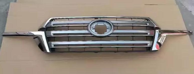 Land Cruiser LC200 2016 Chrome Front Hood Grille Vent Decorative Trim