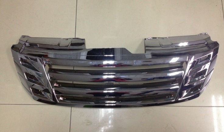 Modify Chromed Front Grille For ISUZU D-MAX 2012