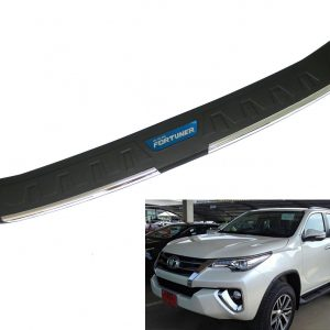 TAILGATE REAR BUMPER STEP COVER USE FOR TOYOTA FORTUNER SUV 2016 2017