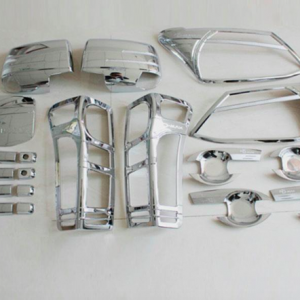 D-MAX 2012 Chromed Kits Set