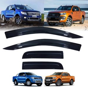 Ford Ranger T6 2012-2014 Rain Weather Guard Visor
