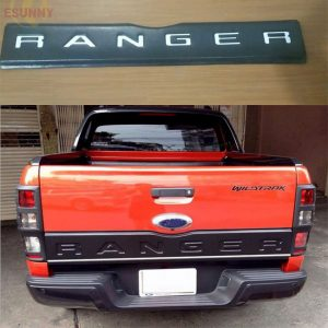 Ford Ranger T6 2012-2014 Extra Cover Trim Tailgate Cover