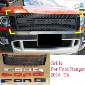 Ford Ranger T6 2012-2014 Modify Grille with Ford words  (with LED/without LED)