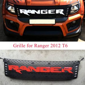 Ford Ranger T6 2012-2014 Modify Grille With Ranger Words With LED