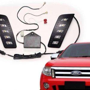 LED Daytime Running Light Fit Ford Ranger T6 Pickup 2012-2014