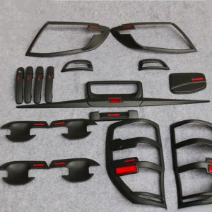Ranger 2012 Matte Black kits With Red