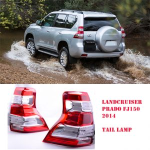 Oem Toyota Land Cruiser Prado FJ150  Tail Light Set 2014-2017