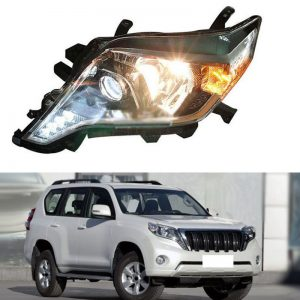 Genuine Style LED Xenon HID Headlights For Toyota Land Cruiser Prado 2014~2016