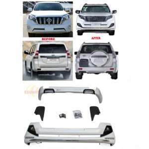 Toyota Land Cruiser Prado FJ150 2014 ~ 2016 Body Kit With Led