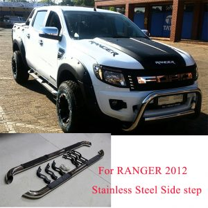 Ford Ranger 2012-2014 Stainless Steel Side Step