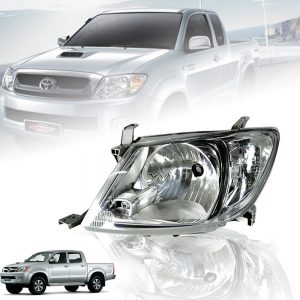 Toyota Hilux Vigo SR5 2009-2011 Clear Lens Head Light Front Lamp