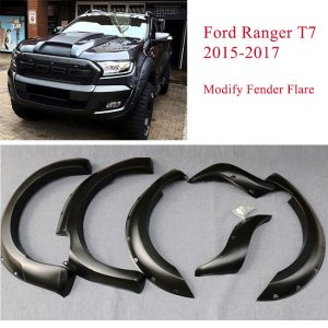 Ford Ranger T7 2015-2017 Modify Fender Flare Wheel Arch