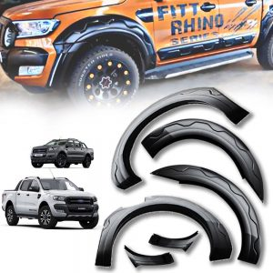 Ford Ranger T7 2015-2017 ABS Plastic Injection Wheel Fender Flare