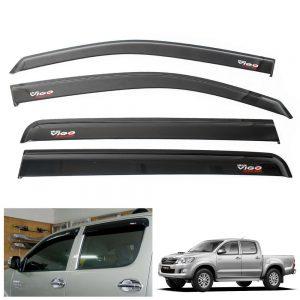 Toyota Hilux MK7 Vigo Champ 2011-2014 Window Visor Wind Sun Rain Guard