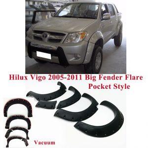 Toyota Hilux Vigo 2005-2011 Modify Big Vacuum Fender Flare Pocket Style