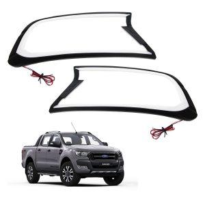 Ford Ranger T7 Head Light Cover With Light