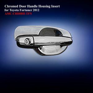 Chromed Door Handle Housing Insert for Double Cab