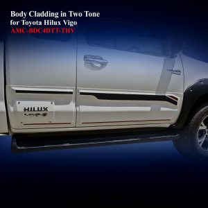Body Cladding for Toyota Hilux Vigo 2012-15 in Body Clor
