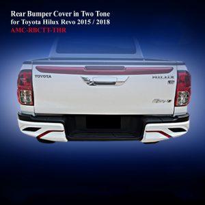 Rear Bumper Cover in Two Tone