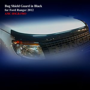 Bug Shield Guard in Transparent Black
