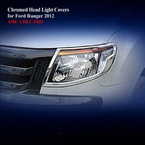 Chromed Head Light Covers
