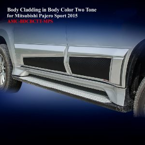 Body Cladding for Mitsubishi Pajero Sport 2015-19 in Two Tone