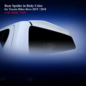 Rear Spoiler for Double Cab in Body Color