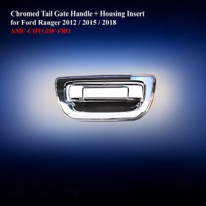 Chromed Tail Gate Handle + Housing Insert Full Type