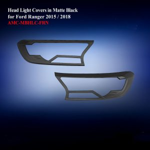 Head Light Covers in Matte Black
