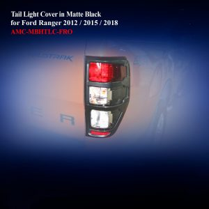 Tail Light Cover in Matte Black