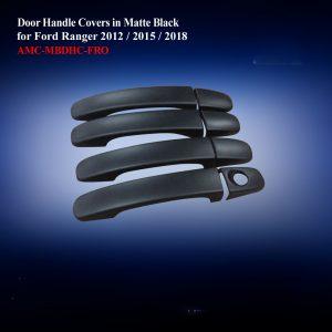 Door Handle Covers Double Cab in Matte Black