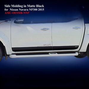 Side Molding for Nissan Navara NP300 2015 in Matte Black
