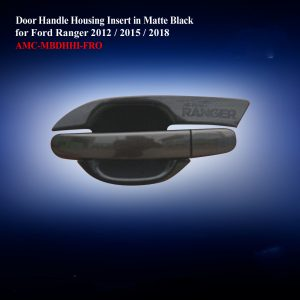 Door Handle Housing Insert in Matte Black