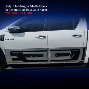 Body Cladding for Toyota Hilux Revo 2015-19 in Two Tone