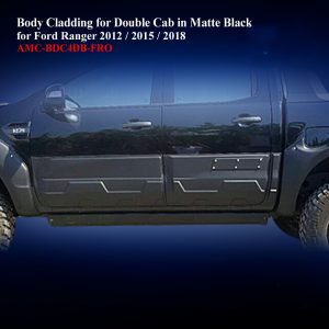 Body Cladding for Double Cab in Matte Black