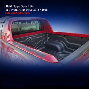 OEM Sport Bar with Non-Painted