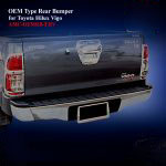 OEM Type Rear Bumper for Toyota Hilux Vigo 2012