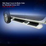 Side Steps Cover for Mitsubishi Triton 2015 in Body Color