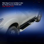Side Steps Cover for Nissan Navara NP 300in Body Color