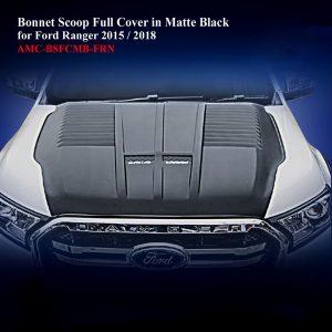 Bonnet Scoop Full Cover in Matte Black