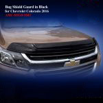 Bug Shield Guard for Chevrolet Colorado 2016 in Black